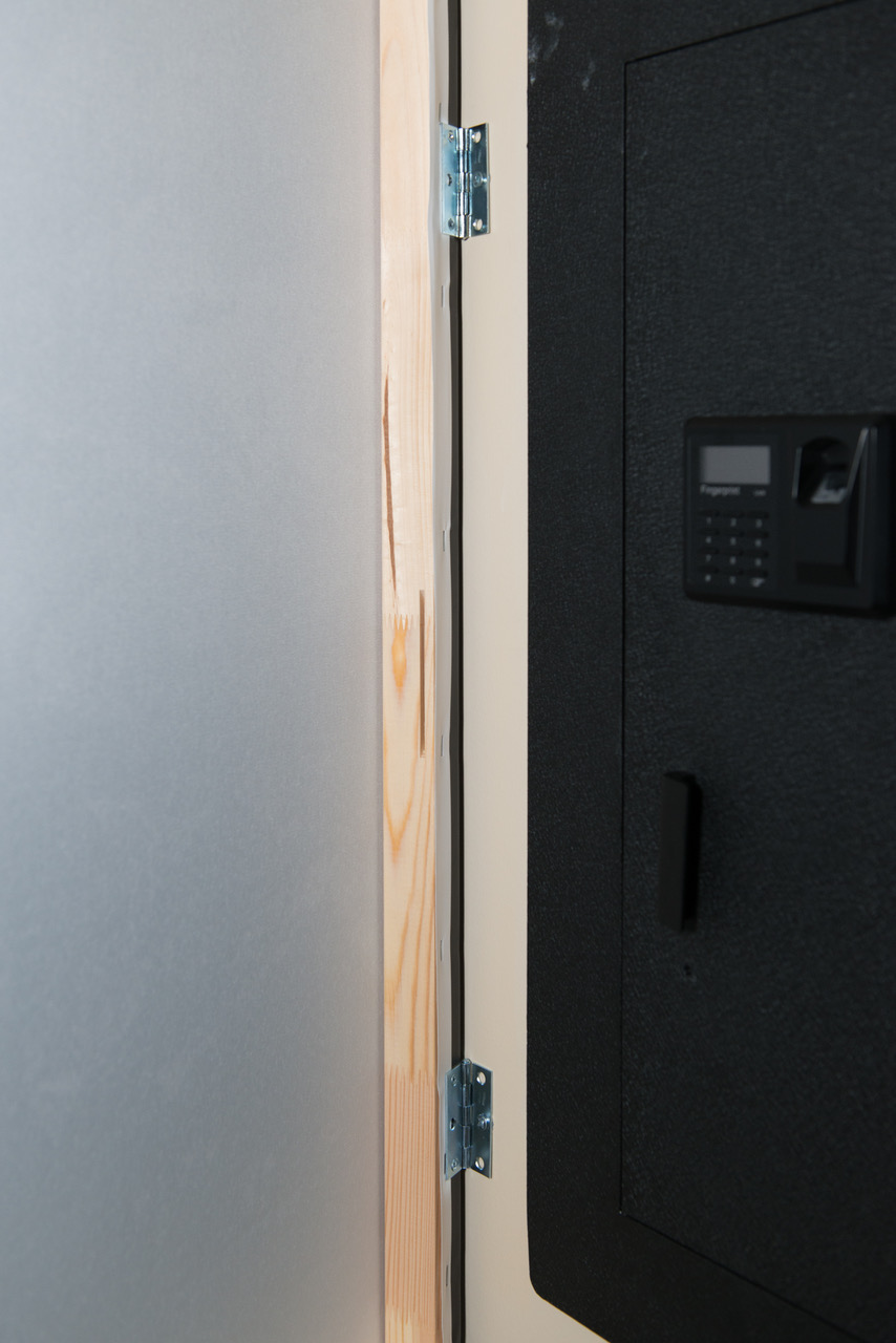 Concealing Your Safe Behind A Canvas Blumsafe