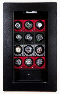 BlumSafe Display Door - Carbon Red and Black Winders