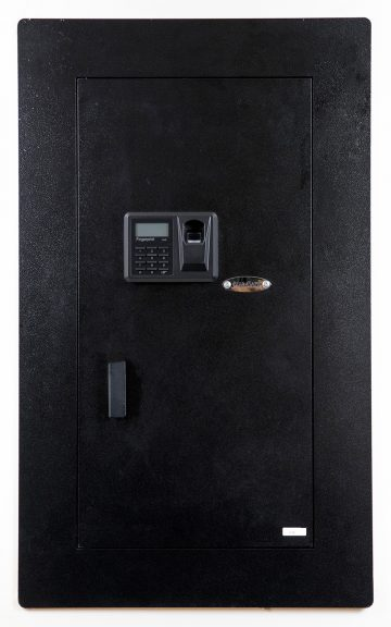 blumsafe steel closed door