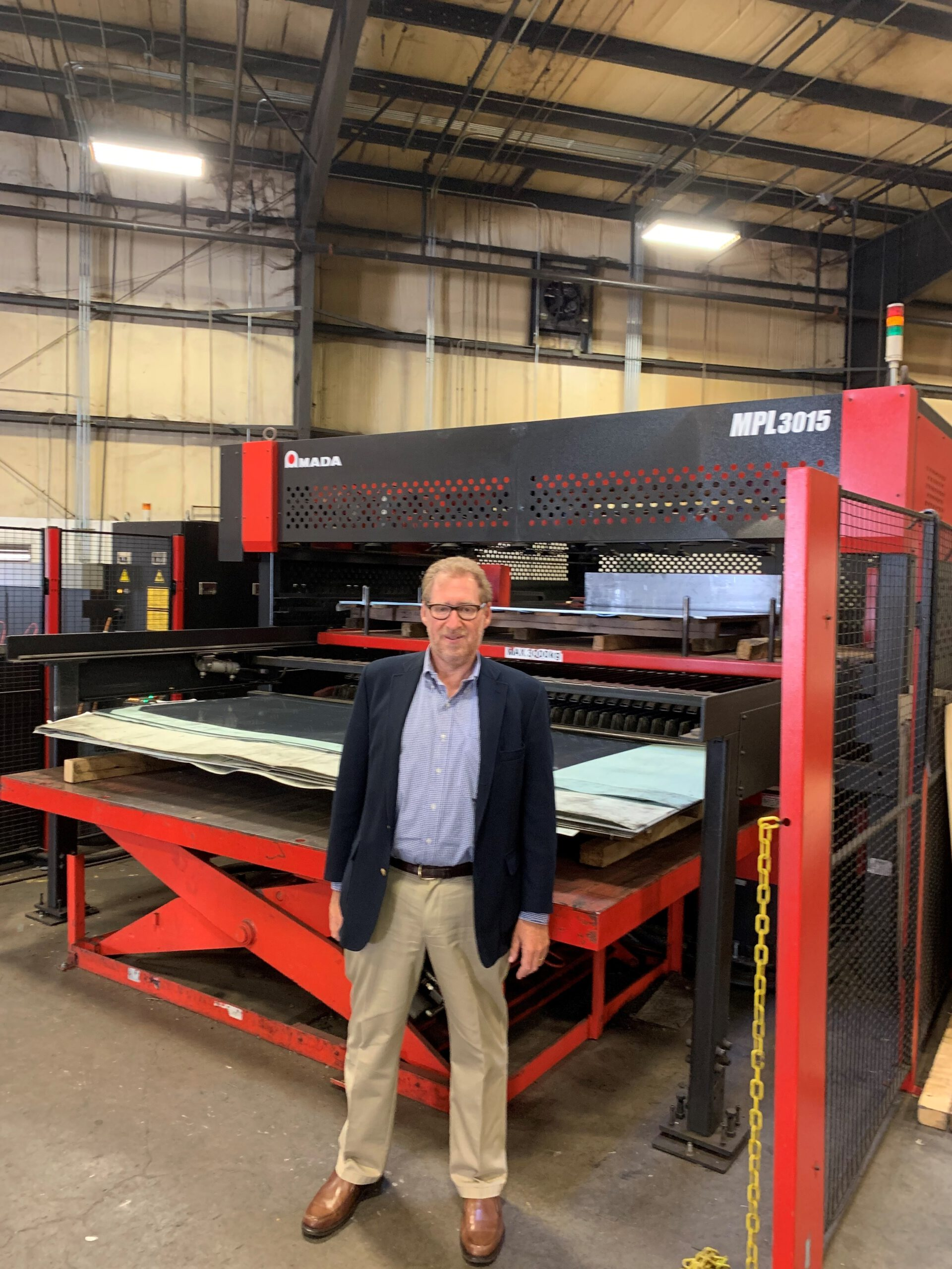 Rob Blum at the US Factory